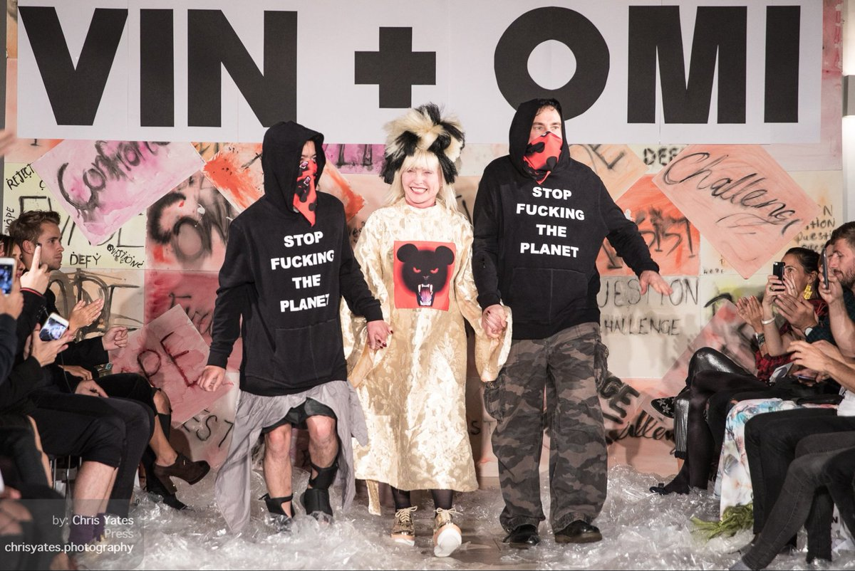 Vin + Omi and Debbie Harry - Stop Fucking The Planet SS19